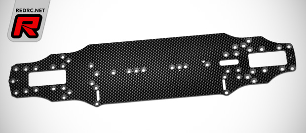Serpent Eryx 4.0 carbon fibre & aluminium chassis