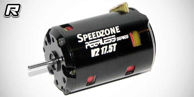 Red rc rc car news speedzone peerless v2 brushless motors for Red wing ball bearing ac motor