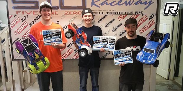 Seth VanDalen wins at Sub Zero Challenge