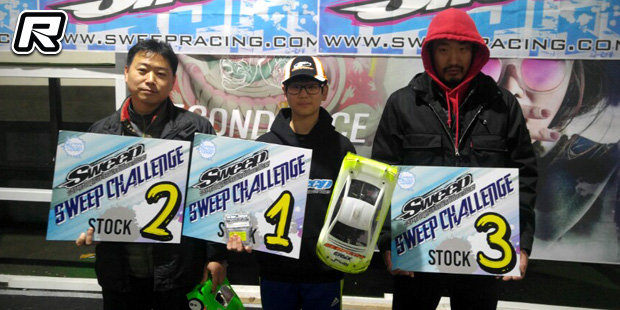 Kim Sungmin TQs & wins at Sweep Challenge