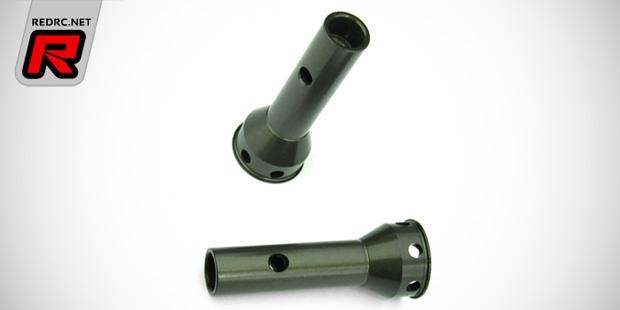 Tekno RC aluminium stub axles