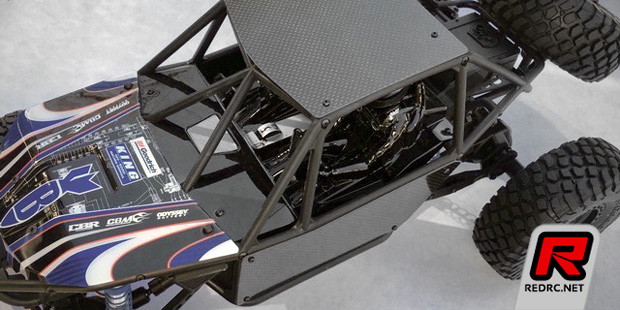 Xtreme Racing RR10 Bomber carbon fibre panels