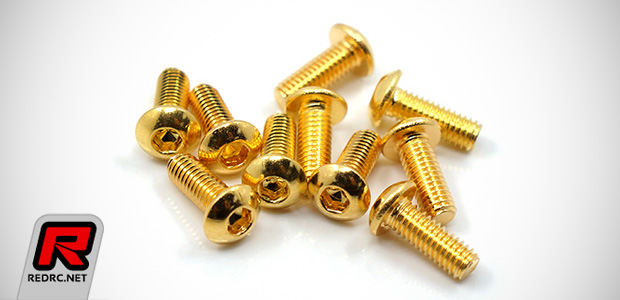 Yeah Racing Gold-plated stainless steel screws