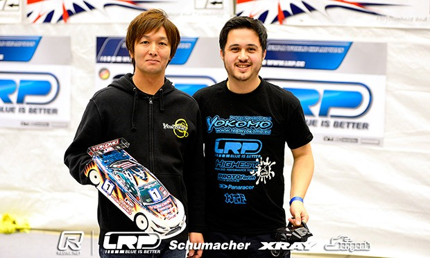 Volker is Top Qualifier at DHI Cup