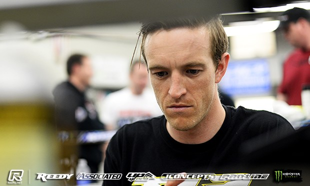 Evans tops 2WD practice at Reedy Race