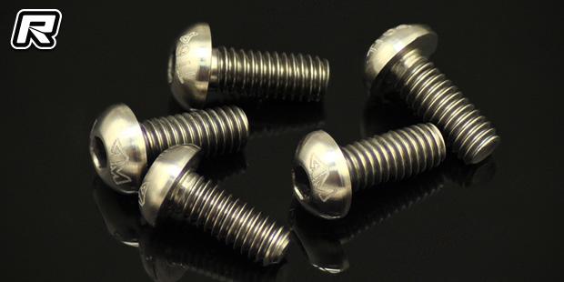 Arrowmax 64 grade titanium M3 & M4 screws