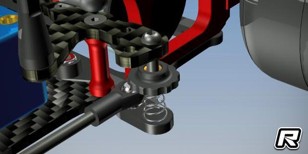 Capricorn Lab F1-01 metal side spring mounts