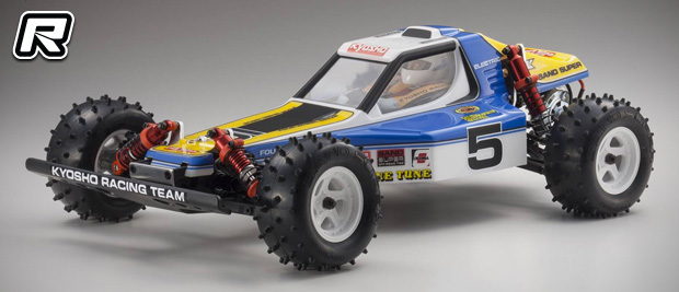 Kyosho Optima 4WD buggy re-release