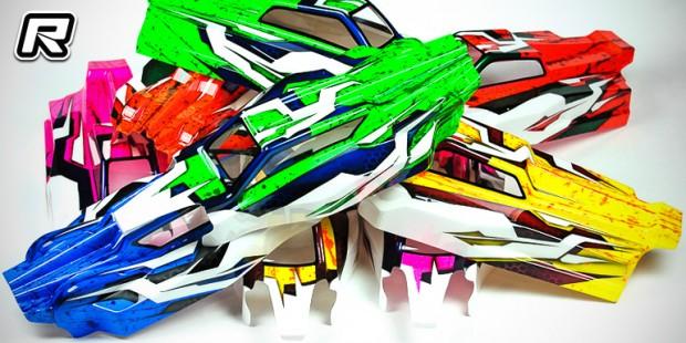 Mibosport offers pre-painted Yokomo buggy bodies