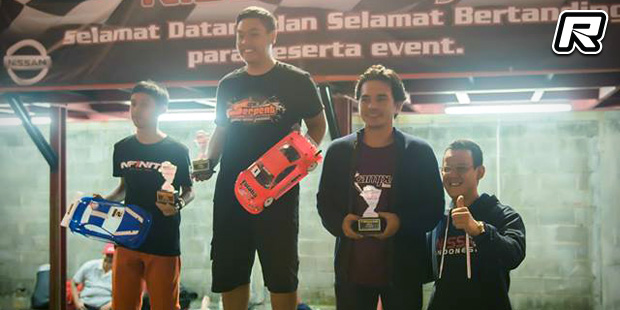 Bowie Ginting doubles at Nissan Cup