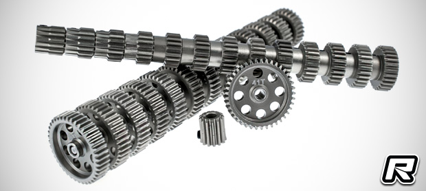 RC Concept 48 pitch aluminium pinions