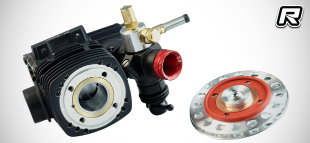 Reds Racing R7 Evoke V3.0 nitro engine