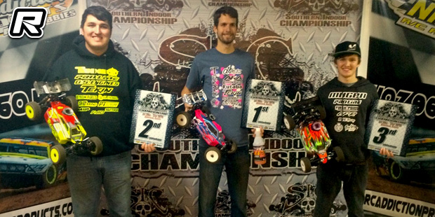 Ryan Lutz trifecta at Southern Indoor Champs