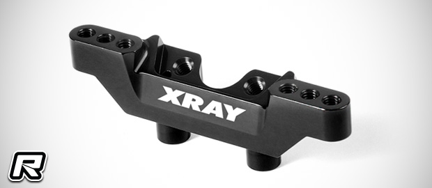 Xray XB2 aluminium front & rear camber link mounts