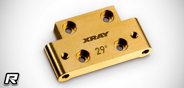 Xray XB2 brass front bulkheads