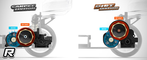 Xray XB2 Dirt Edition 1/10th 2WD buggy kit