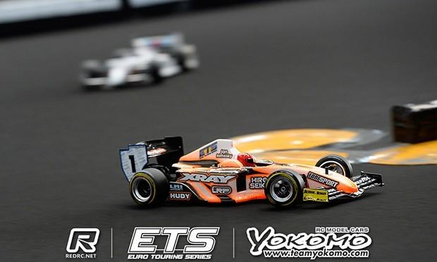 Ratheisky TQs Formula at ETS, Masami to start 5th