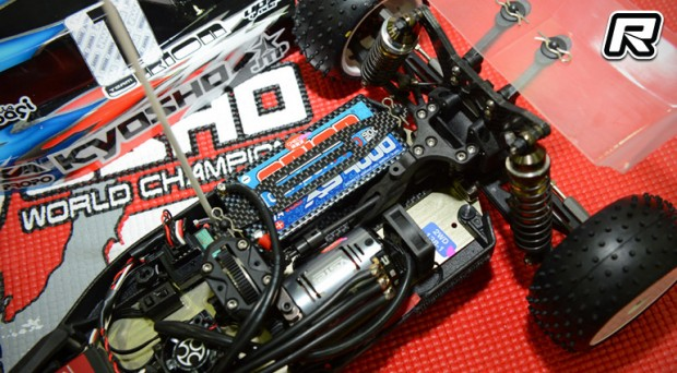 Kyosho RZ6 2WD mid motor conversion kit - Red RC