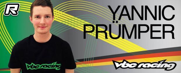Jannic Prümper teams up with VBC Racing