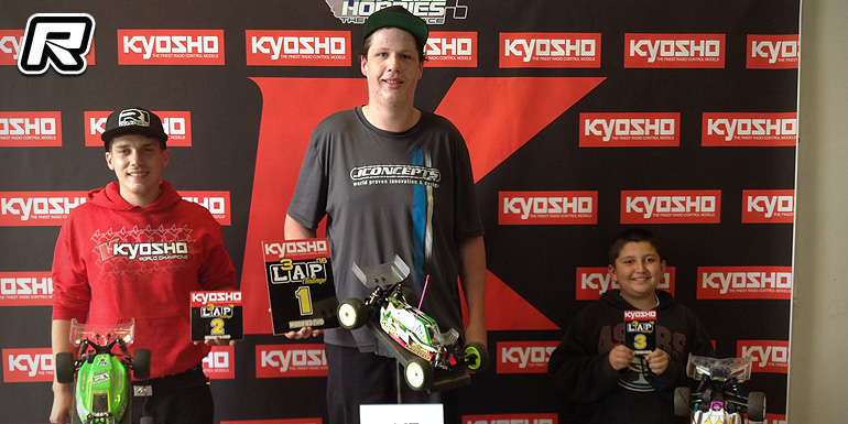 Tanner Day doubles at Kyosho 3 Lap Challenge