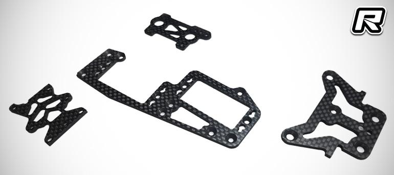 DKT TKI4 & TKI3 full carbon fibre option parts kit