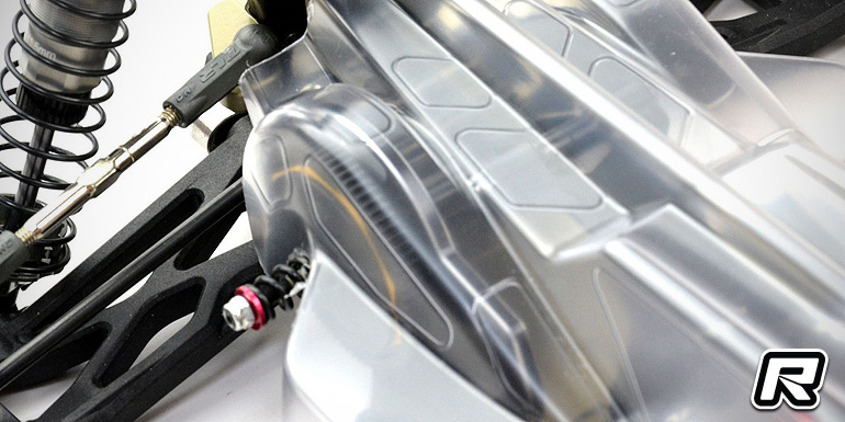Exotek 22 3.0 LCG aluminium gearbox set