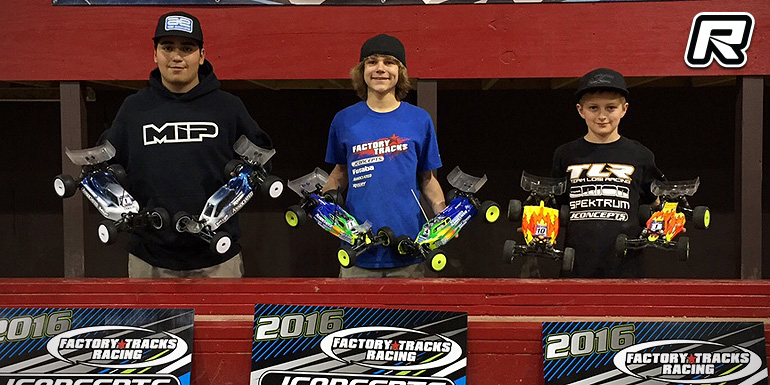 Horne dominates JConcepts Factory Tracks Invitational