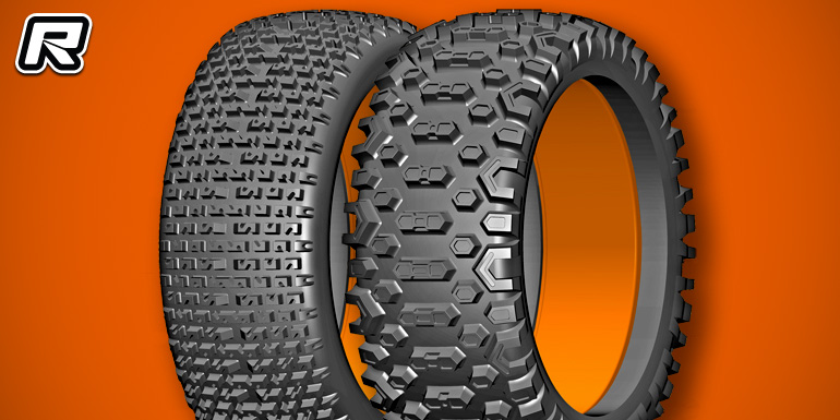 GRP Micro & Cross 1/6th scale off-road tyres