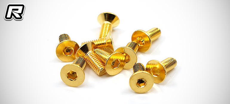 Hobby Pro USA 24K gold-plated stainless steel screws