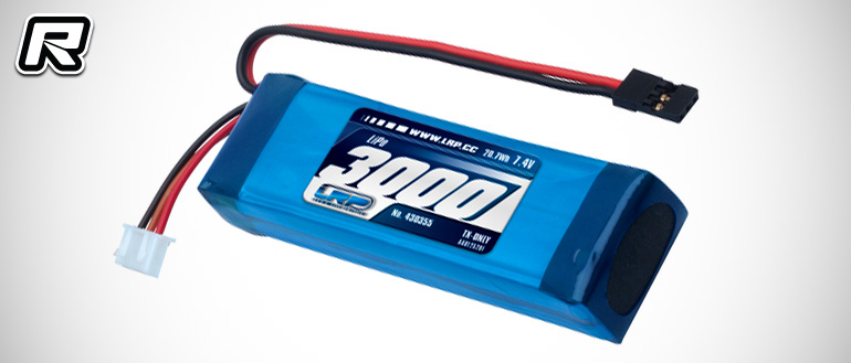 LRP 3000mAh transmitter LiPo battery pack