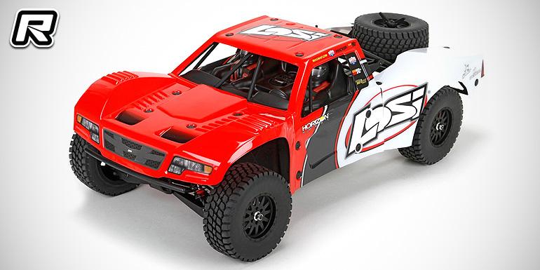 Losi Baja Rey 1/10th 4WD RTR desert truck