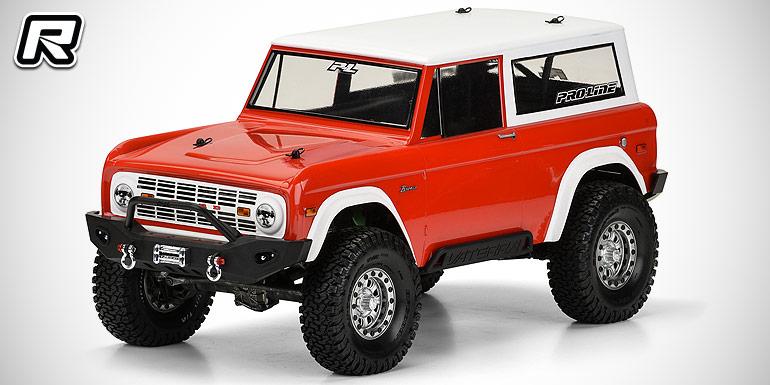 Pro-Line 1973 Ford Bronco rock crawler bodyshell