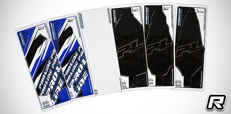 Pro-Line pre-cut 1/10th buggy chassis protectors