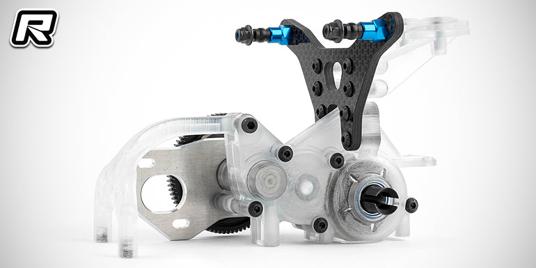 Team Associated show prototype 3-gear B5M gearbox