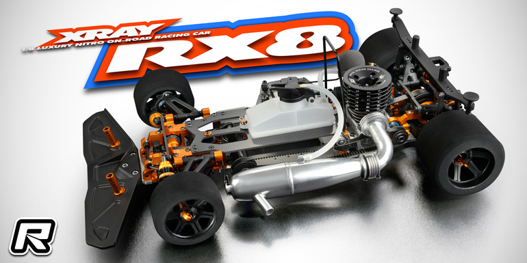Xray RX8 2016 1/8th nitro on-road kit