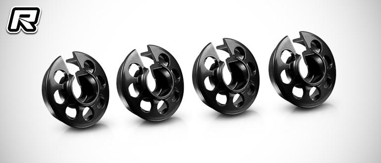 Xray T4 black aluminium spring retainers