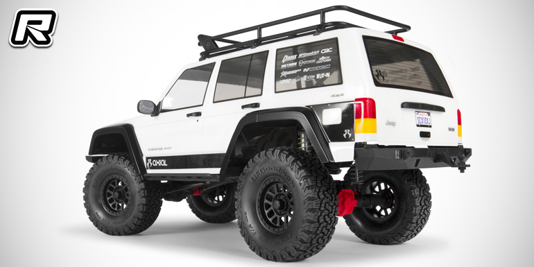 Axial Scx10 Ii 2000 Jeep Cherokee 4wd Kit Red Rc Rc