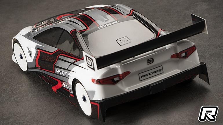 Bittydesign Ascari 190mm touring car bodyshell