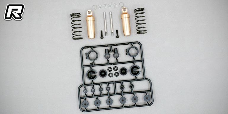 Cox Optima 2016 aluminium shock absorbers