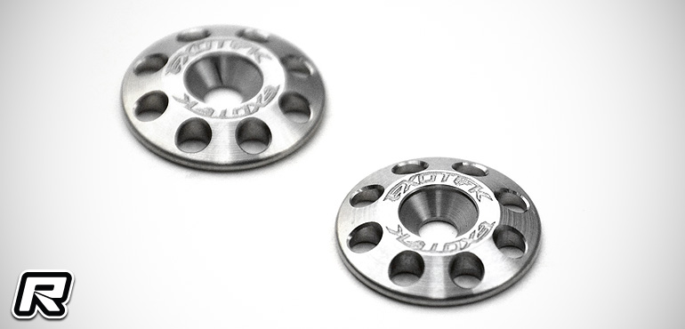 Exotek 1/8th & 1/10th titanium wing buttons