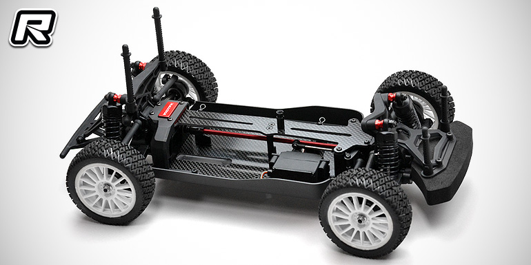 Exotek Mini 8ight Rally carbon chassis & top plate
