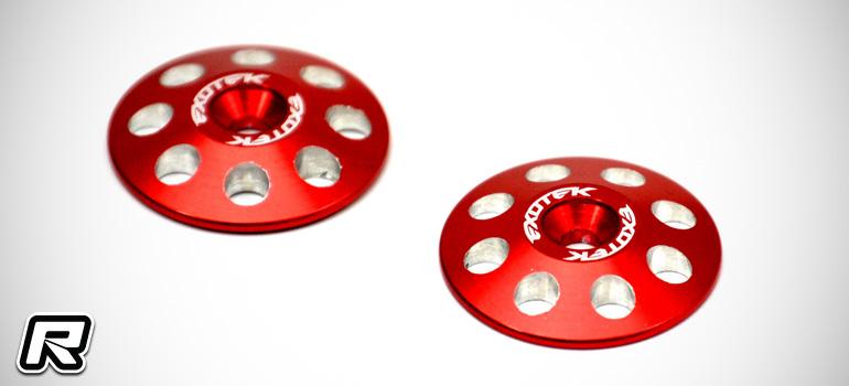 Exotek 1/8 XL aluminium wing buttons