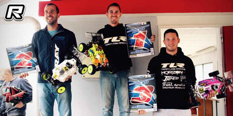 Reno Savoya wins rain-affected French Buggy Nats Rd3