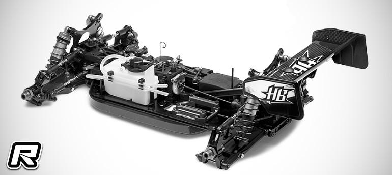 HB D815 V2 1/8th nitro off-road buggy