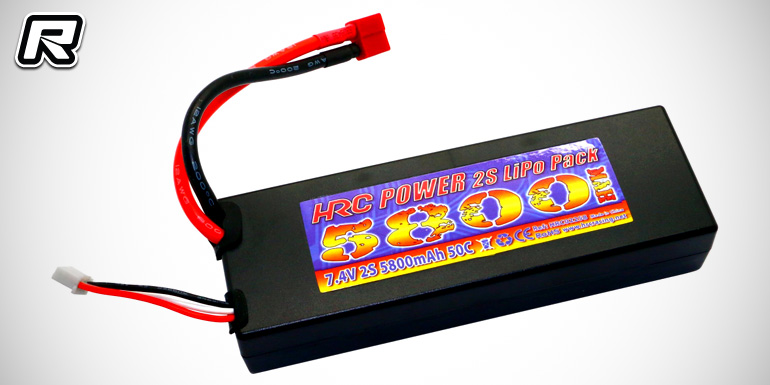 HRC Racing pre-wired hardcase LiPo battery packs