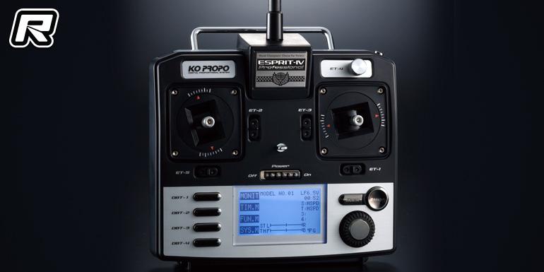 KO Propo Esprit 4 ASF 2.4GHz stick radio system