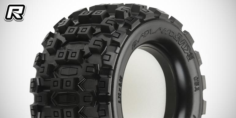Pro-Line Badlands MX28 & new pre-mounted SC tyres