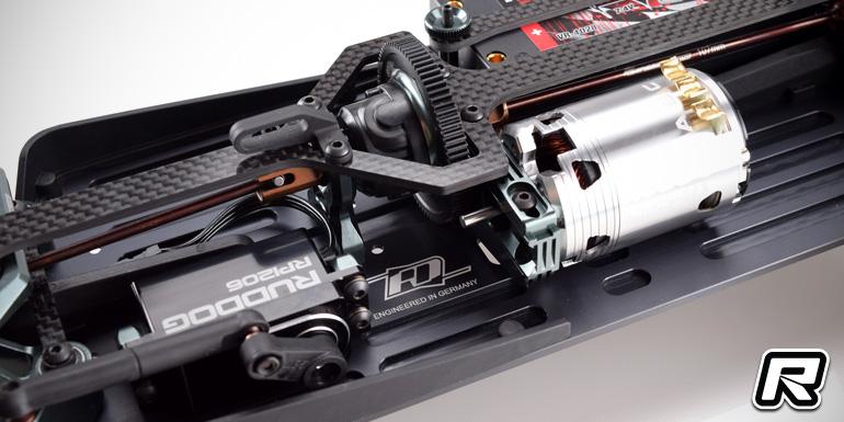 Revolution Design 4XS aluminium main chassis