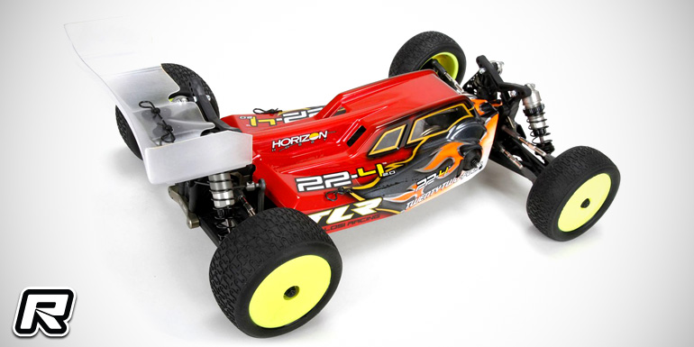 TLR 22-4 2.0 1/10th 4WD electric buggy kit