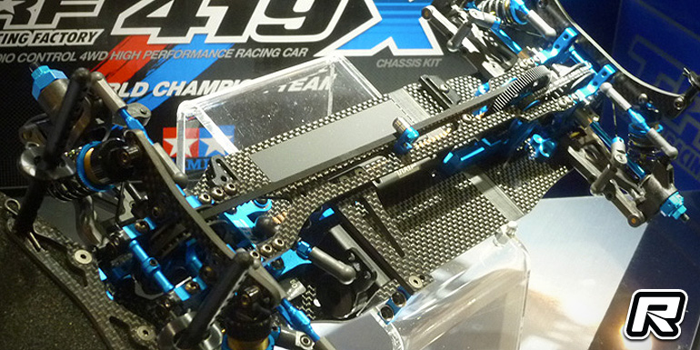 Tamiya TRF419X & TA07 Pro at Shizuoka Hobby Show